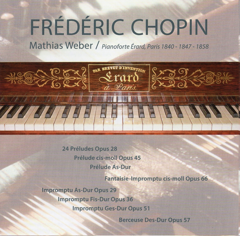Mathias Weber Chopin Cd1